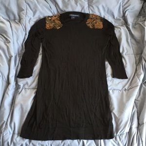 French connection embellished sweater dress 10